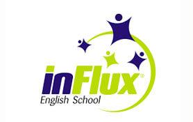 Marca Escola de Inglês inFlux