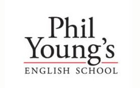 Marca Escola de Inglês Phil Young's