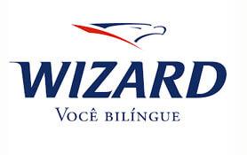 Marca Escola de Inglês Wizard