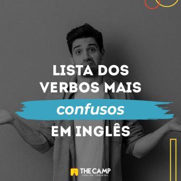 [eBook] Lista dos Verbos Mais Confusos em Inglês - Materiais TheCamp