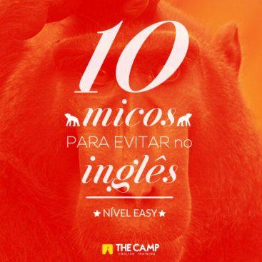 [eBook] 10 micos para se evitar no Inglês - Materiais TheCamp
