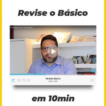 [Video Exclusivo] Revise o básico do Inglês em 10 minutos - Materiais TheCamp
