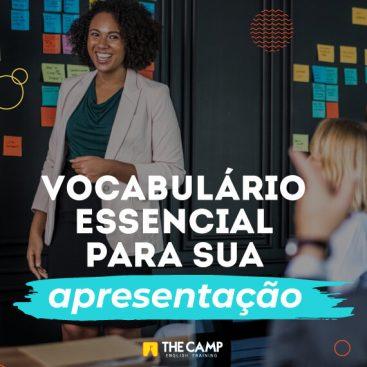 [eBook + Vídeo] Vocabulário para sua apresentação em Inglês - Materiais TheCamp
