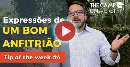 [Vídeo ] Como Receber Pessoas em Casa - Blog TheCamp