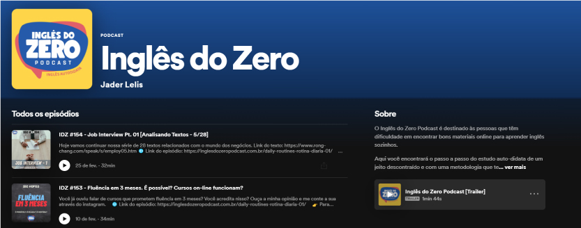 Inglês do Zero - Recomendação de Podcast TheCamp