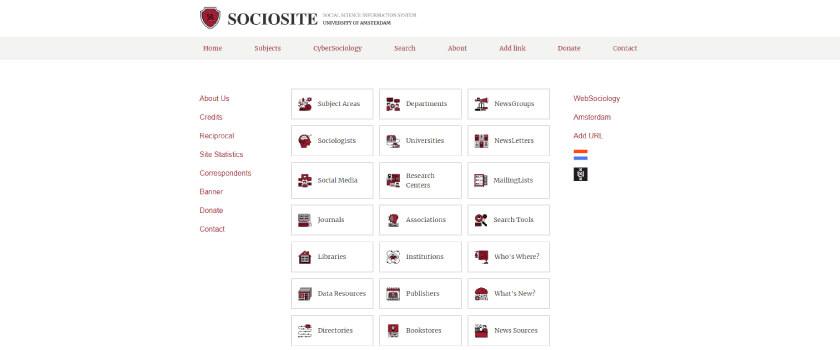 SocioSite - Dicas para leitura de artigos TheCamp